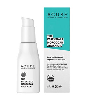 US Organic Face Oil. Buy Acure The Essentials Argan Oil 30ml at One Fine Secret. Natural & Organic Skincare store in Melbourne, Australia.