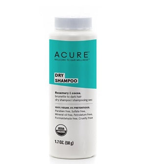Buy Acure Dry Shampoo 58g Brunette & Dark Hair at One Fine Secret. Natural & Organic Hair Care Products in Melbourne, Australia.