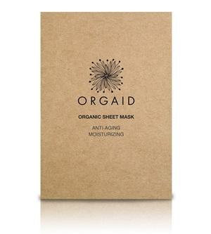 Innovative Organic Sheet Mask (Ecoderma) made in the USA. Orgaid Anti-aging & Moisturizing Organic Sheet Mask - One Fine Secret