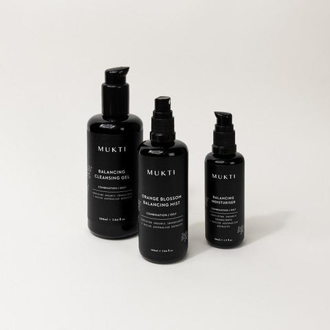 Buy Mukti Balancing Essentials 3 Step Ritual at One Fine Secret. Mukti's Official Australian Retailer Store in Melbourne CBD.