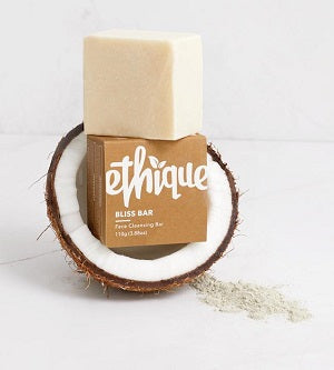 Buy Ethique Bliss Solid Face Cleansing Bar for Normal to Dry Skin at One Fine Secret. Ethique's official stockist in Melbourne, Australia.