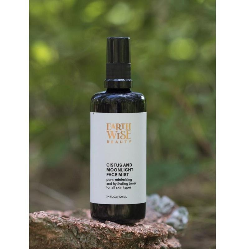 Award Winning Popular Cult Green Beauty Skincare from the US. Earthwise Beauty Cistus and Moonlight Face Mist. One Fine Secret Clean Beauty Store Melbourne Australia