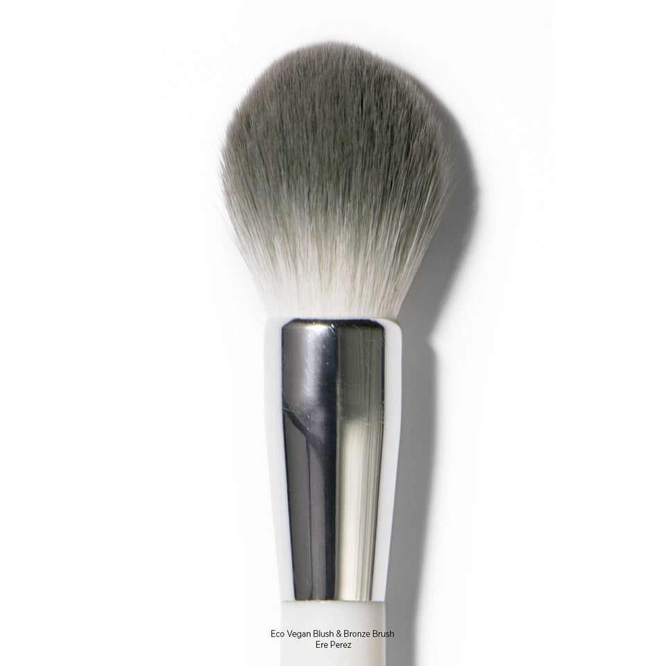 Natural Makeup Brush for Blush & Bronzer Products. Ere Perez Eco Vegan Blush & Bronze Brush - One Fine Secret