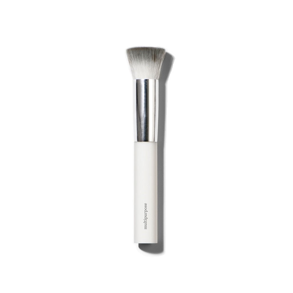 Natural Makeup Brush for Foundations & Highlighters. Ere Perez Eco Vegan Multipurpose Brush - One Fine Secret
