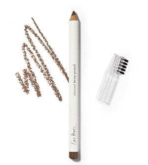 Makeup Category - Ere Perez Natural Almond Oil Eyebrow Pencil (Light Brown/Grey) - One Fine Secret