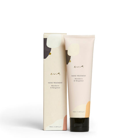 Shop ENA Hand Treatment Mandarin & Bergamot at One Fine Secret Melbourne. Natural & Organic Skincare Makeup Clean Beauty Store in Melbourne, Australia.