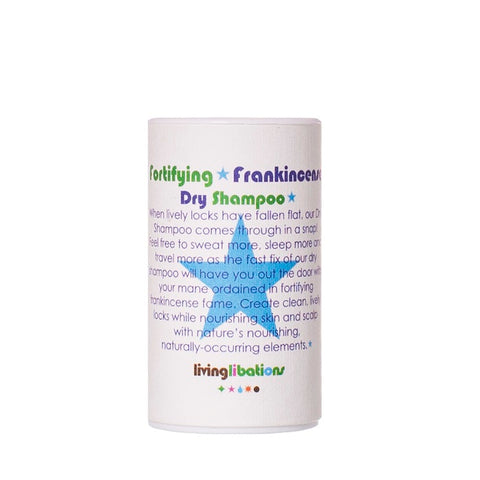 Buy Living Libations Fortifying Frankincense Dry Shampoo 30ml at One Fine Secret. Living Libations AU Stockist, Clean Beauty Store in Melbourne, Australia.