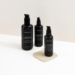 Mukti Skincare Value Set. Buy Hydrating Essentials 3 Step Ritual Kit at One Fine Secret. Mukti Organic's Official Australian Retailer Store in Melbourne.