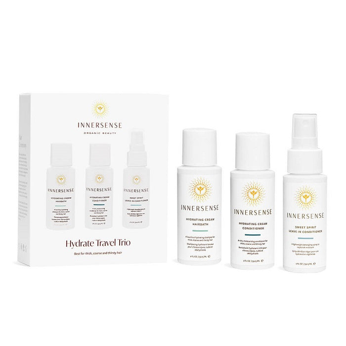 The best organic hair care kit. Buy Innersense Hydrate Travel Trio at One Fine Secret. Natural & Organic Hair Care store in Melbourne, Australia.