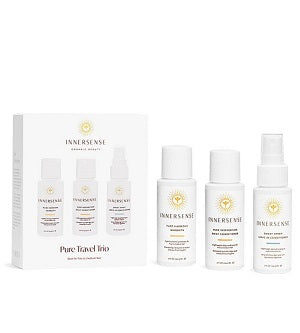 The best organic hair care kit. Buy Innersense Pure Travel Trio at One Fine Secret. Natural & Organic Hair Care store in Melbourne, Australia.