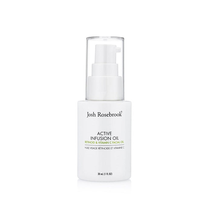 Regenerating retinoid facial oil by Josh Rosebrook. Buy New Active Infusion Oil at One Fine Secret. Josh Rosebrook Official Stockist in Melbourne, Australia.