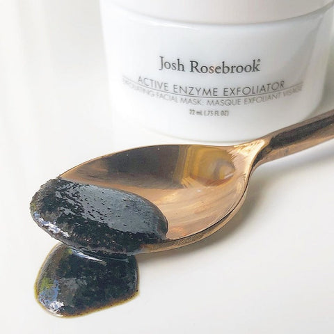 Clean Green Beauty Skincare. Josh Rosebrook Active Enzyme Exfoliator - One Fine Secret