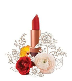 Natural Lip Makeup. Karen Murrell Natural Lipstick - Fiery Ruby. Discover Clean Beauty at One Fine Secret!