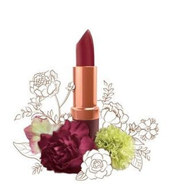 Natural Lip Makeup. Karen Murrell Natural Lipstick - Bordeaux Rouge. Discover Clean Beauty at One Fine Secret!