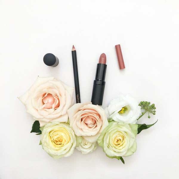 Natural Lip Makeup. Karen Murrell Natural Lip Pencil - Cordovan Natural. Discover Clean Beauty at One Fine Secret!