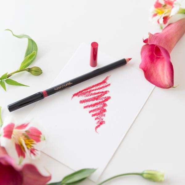 Natural Lip Makeup. Karen Murrell Natural Lip Pencil - True Love. Discover Clean Beauty at One Fine Secret!