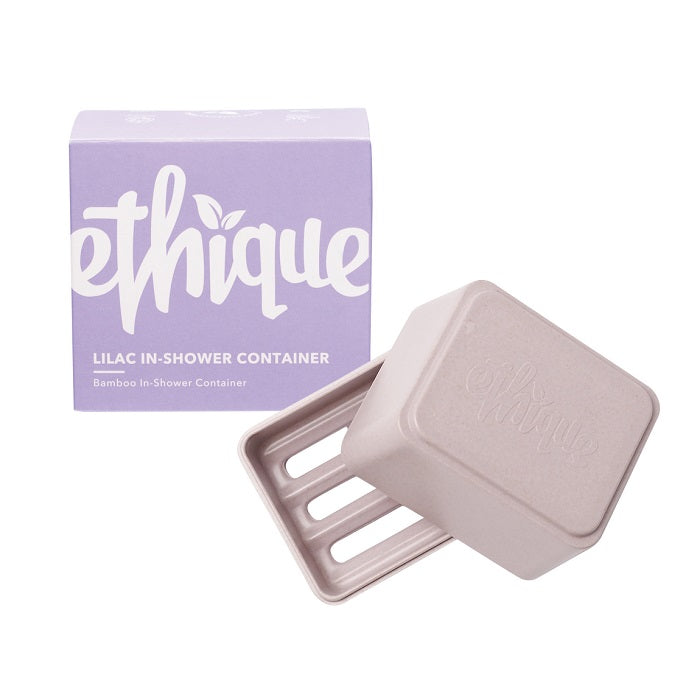 Buy Ethique Lilac In-Shower Container at One Fine Secret. Ethique's Official Stockist in Melbourne, Australia.