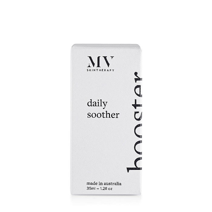 The new name for MV Organic Daily Booster. Buy MV Skin Therapy Daily Soother Booster at One Fine Secret. MV Skincare Official Stockist in Melbourne, Australia.