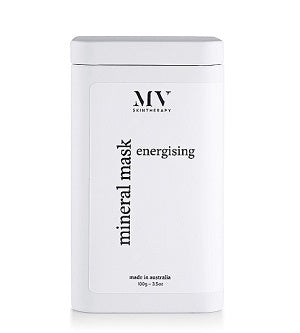 New name for MV Organic Skincare. Buy MV Skin Therapy Energising Mineral Mask in Tin at One Fine Secret. MV Skincare Official AU Stockist in Melbourne.