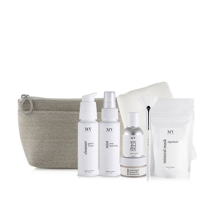 MV Skincare Value Pack. Buy MV Skin Therapy Radiance Kit at One Fine Secret. MV Organic Skincare Official Stockist.