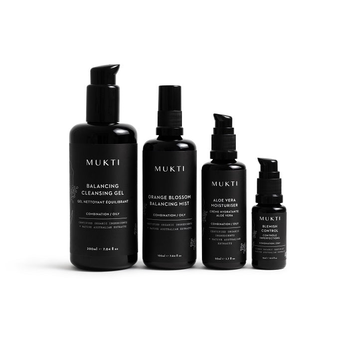 Buy Mukti Blemish Solutions + Free Blemish Control at One Fine Secret. Mukti Skincare Official Stockist in Melbourne, Australia.