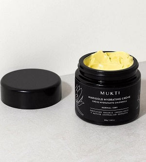 Australian Certified Organic Skincare. Shop Mukti Marigold Hydrating Crème at One Fine Secret, Natural & Organic Skincare Makeup Clean Beauty Store Melbourne Australia