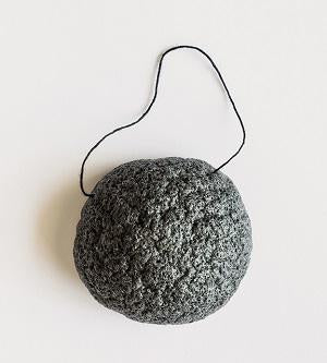 Australian Certified Organic Skincare. Shop Mukti Activated Charcoal Konjac Sponge at One Fine Secret, Natural & Organic Skincare Makeup Clean Beauty Store Melbourne Australia