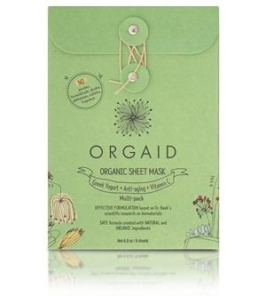 Innovative Organic Sheet Mask (Ecoderma) made in the USA. Orgaid Organic Sheet Mask Mixed Multi-pack (6 Sheets) - One Fine Secret