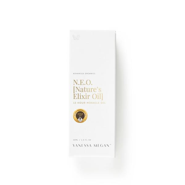 100% Natural Australian Skincare. Buy Vanessa Megan N.E.O. (Nature's Elixir Oil) 12 Hour Miracle Oil 30ml at One Fine Secret. Natural & Organic Skincare Store in Melbourne, Australia.