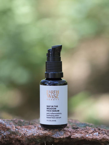 Popular Cult Green Beauty from the US. Earthwise Beauty Nap in the Meadow Face Serum. One Fine Secret Clean Beauty Store Melbourne Australia