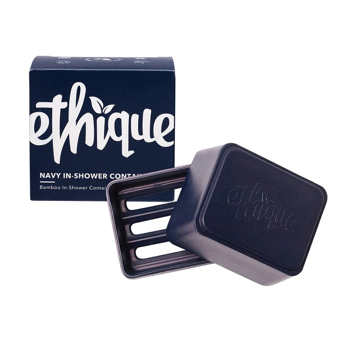 Buy Ethique Navy In-Shower Container at One Fine Secret. Ethique's Official Stockist in Melbourne, Australia.