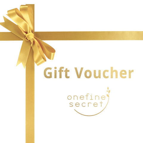 One Fine Secret Gift Vouchers for Clean Beauty Lovers! Clean Beauty Store in Melbourne CBD, Australia