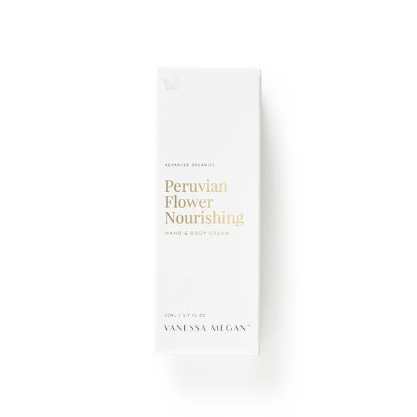 Award winning 100% Natural Australian Skincare. Buy Vanessa Megan Peruvian Flower Nourishing Hand & Body Cream at One Fine Secret. Natural & Organic Skincare Store in Melbourne, Australia.