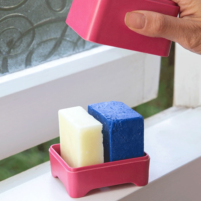 Buy Ethique Pink In-Shower Container at One Fine Secret. Ethique's Official Stockist in Melbourne, Australia.