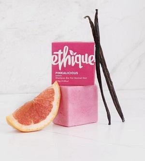 Buy Ethique Pinkalicious - Solid Shampoo Bar For Normal Hair 110g at One Fine Secret. Ethique's Official Stockist in Melbourne, Australia.