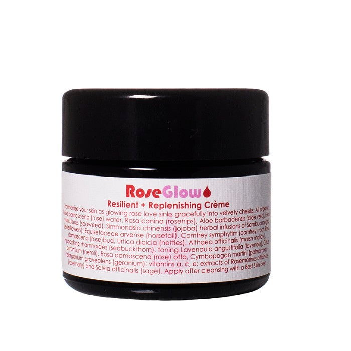 Buy Living Libations Rose Glow Face Cream 50ml at One Fine Secret. Living Libations AU Stockist in Melbourne.