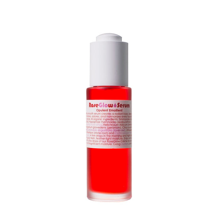 Buy Living Libations Rose Glow Serum 30ml at One Fine Secret. Living Libations AU Stockist in Melbourne.