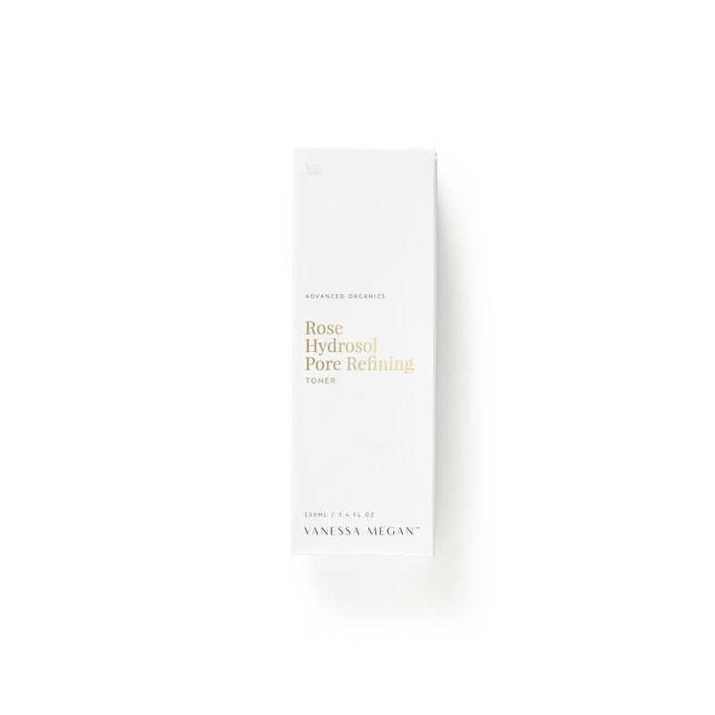 100% Natural Australian Skincare. Buy Vanessa Megan Rose Hydrosol Pore Refining Toner 100ml at One Fine Secret. Natural & Organic Skincare Store in Melbourne, Australia.