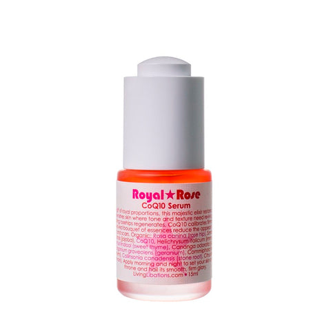 Buy Living Libations Royal Rose CoQ10 Serum at One Fine Secret now. Living Libations AU Stockist in Melbourne.