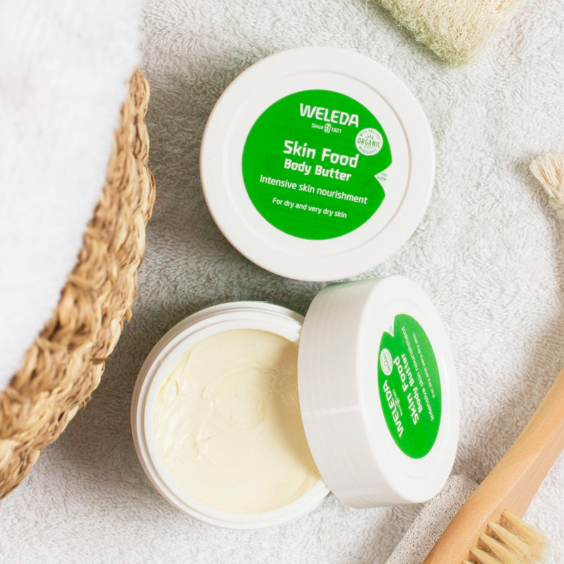 Buy Weleda Skin Food Body Butter 175ml at One Fine Secret. Natural & Organic Skincare Store in Melbourne, Australia.