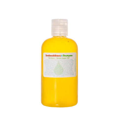 Living Libations Seabuckthorn Shampoo now available at One Fine Secret in 3 sizes - 240ml, 1000ml (1L) & 30ml. Buy now! Official Stockist in Melbourne, Australia.