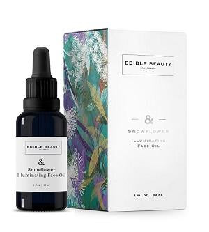 Edible Beauty Face Oil Buy Edible Beauty & Snowflower Illuminating Face Oil 30ml at One Fine Secret. Official Stockist in Melbourne, Australia.