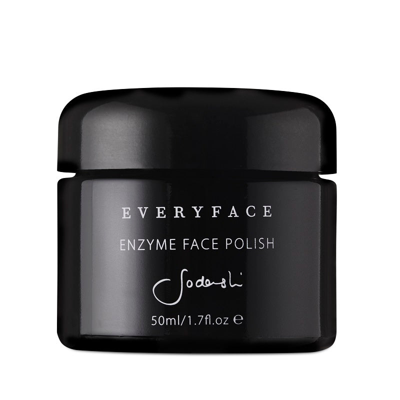 Australian Luxury Spa & Natural Skincare Brand, Sodashi. Buy Sodashi  Enzyme Face Polish at One Fine Secret. Natural & Organic Skincare store in Melbourne, Australia.