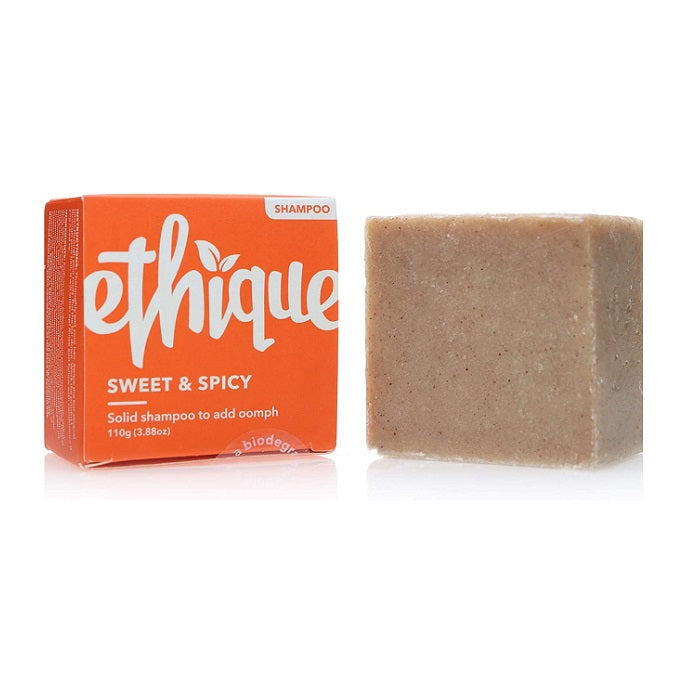 Buy Ethique Sweet & Spicy - Volumising Solid Shampoo Bar To Add Oomph 110g at One Fine Secret. Ethique's Official Stockist in Melbourne, Australia.