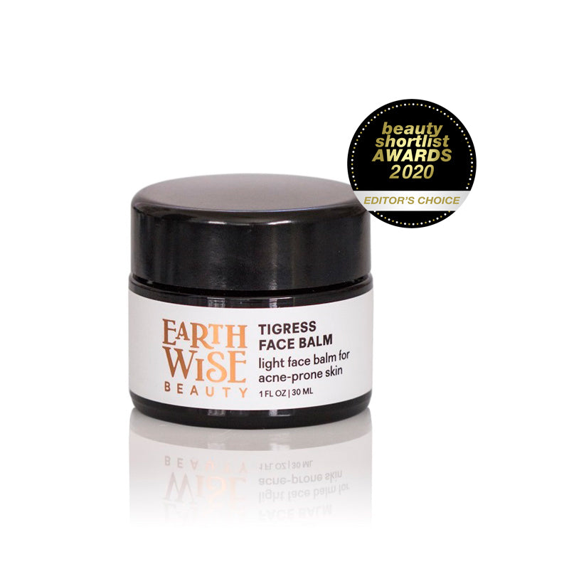 Award Winning Popular Cult Green Beauty Skincare from the US. Earthwise Beauty Tigress Face Balm. One Fine Secret Clean Beauty Store Melbourne Australia