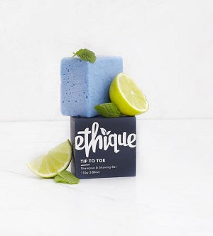 Buy Ethique Tip-to-Toe Solid Shampoo & Shaving Bar at One Fine Secret. Ethique's Official Stockist in Melbourne, Australia.