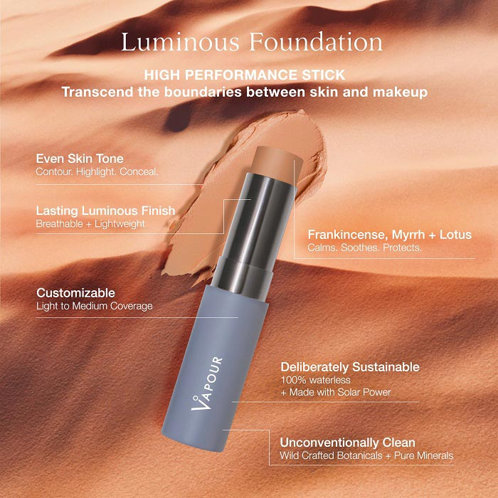Vapour Beauty Luminous Foundation Stick 19 Shades available at One Fine Secret. Vapour Beauty Official Australian Stockist in Melbourne.