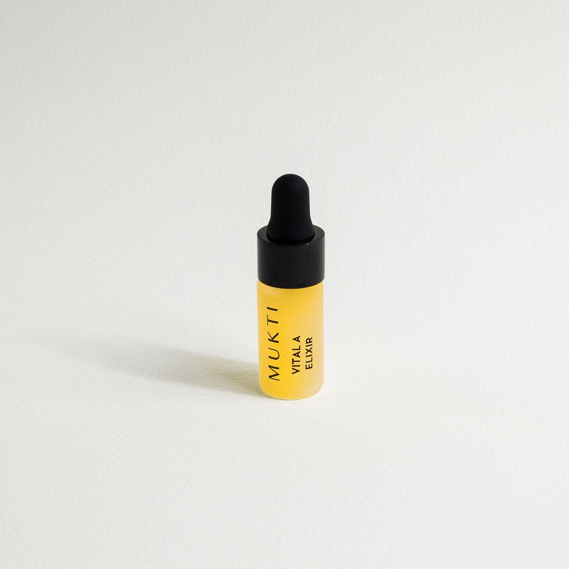 Australian Certified Organic Skincare. Try Mukti Vitamin Booster Vital A Elixir 3ml Sample at One Fine Secret, Natural & Organic Skincare Makeup Clean Beauty Store Melbourne Australia