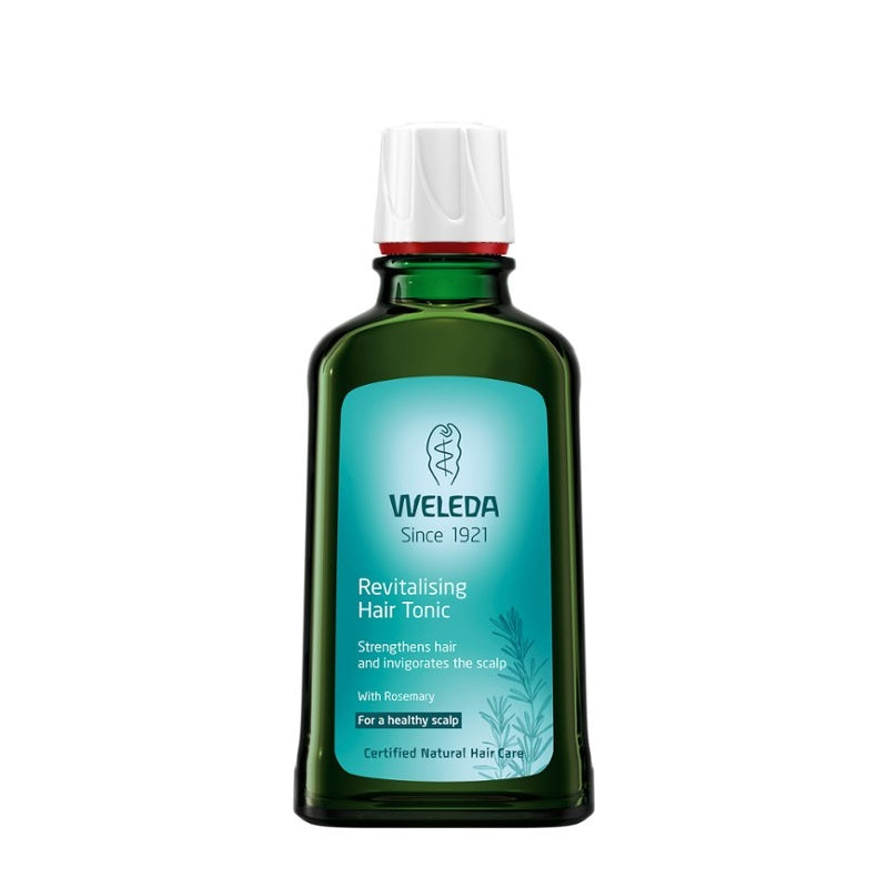 Buy Weleda Revitalising Hair Tonic for Hair Loss & Thin Hair at One Fine Secret! Your Natural & Organic Skincare Makeup Clean Beauty Store in Melbourne, Australia