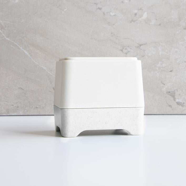 Buy Ethique White In-Shower Container at One Fine Secret. Ethique's Official Stockist in Melbourne, Australia.